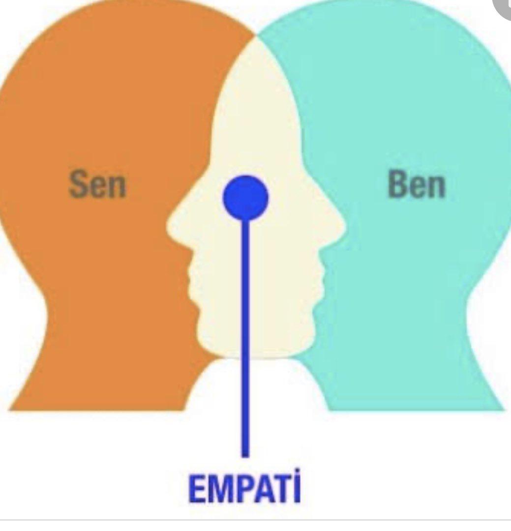 Hayatınızda her şey için empati yapın! Hiç kaybetmessiniz.. @mesutsevgilitr