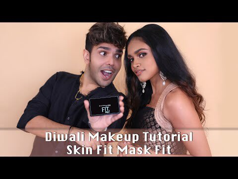 Let's up our makeup game this Diwali season. Here's @shaanmuofficial teaching is how to do a mask- friendly makeup and look like a pataka this Diwali.