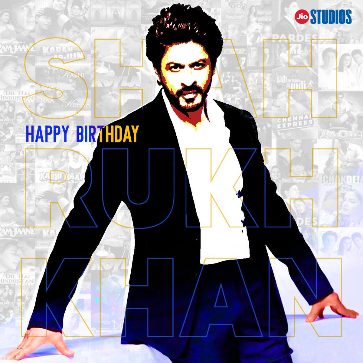 Happy Birthday to the ultimate Superstar! 👑  There is no one like you @iamsrk  #HappybirthdaySRK