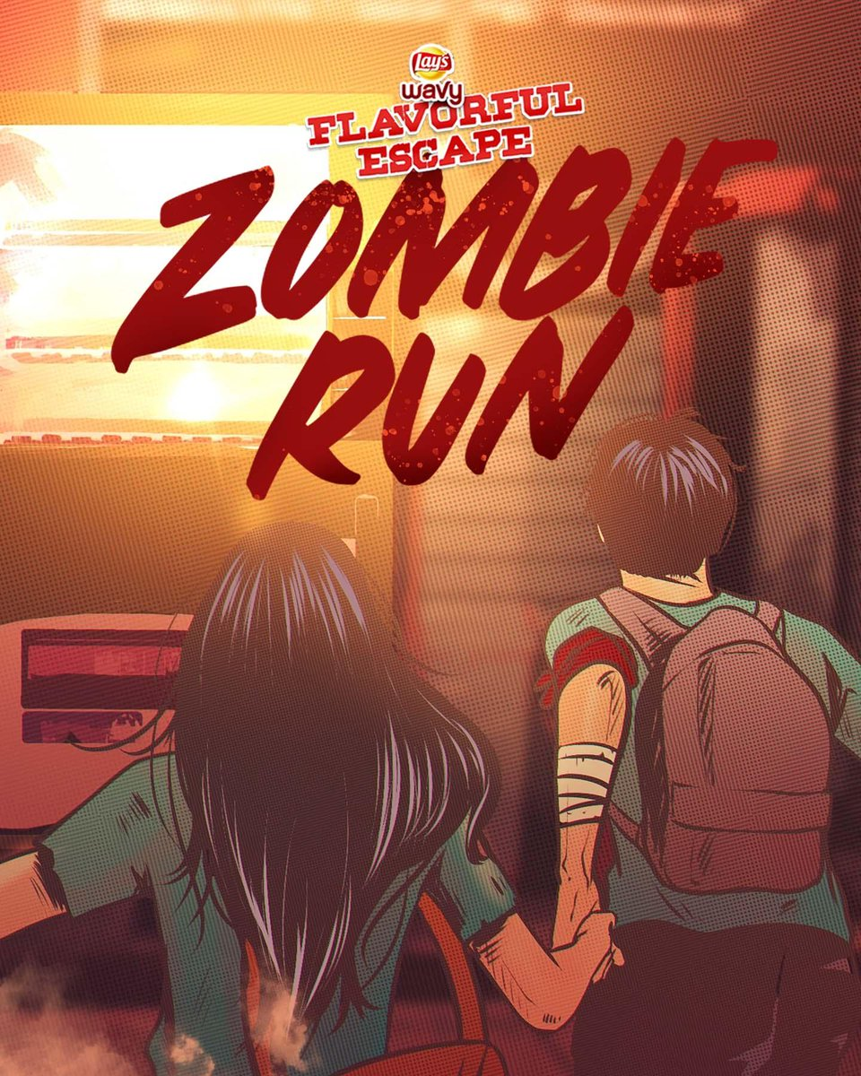 Quick! It's your last chance to help Maymay and Edward outrun the zombies!  Complete the mission for a chance to get P100 off, with a min. spend of P300 on Frito Lay products at Lazada!  Enter here: