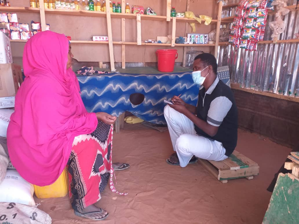 Barwaqo was displaced from Godarka village, her husband is jobless and during #COVID19  her small shop closed and could not able to Purchase Goods to sell, know she able to open  #READMORE 👇   @PlanUK #planinternational @decappeal #decappeal