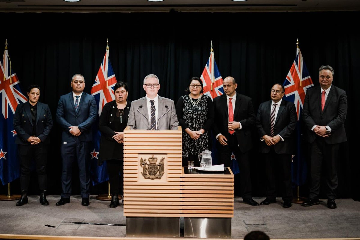 A whirlwind couple of weeks - I am so grateful for the privilege to serve alongside my colleagues as Min for Conservation, Min for Emergency Management, Associate Min for Environment and Associate Min for Arts Culture and Heritage. We are a strong team ready to serve. Lessgo.