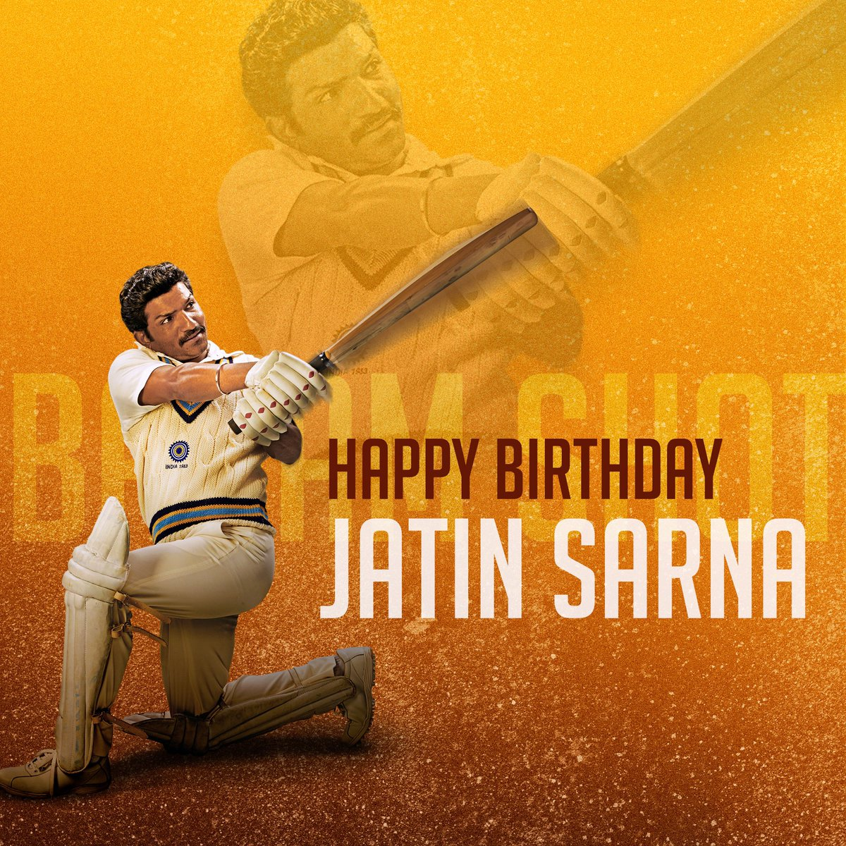 Talent that shines and versatilitythat inspires.Here's wishing our Reel Yashpal Paaji, @jatinsarna, a very happy birthday. #ThisIs83  #HappyBirthdayJatinSarna