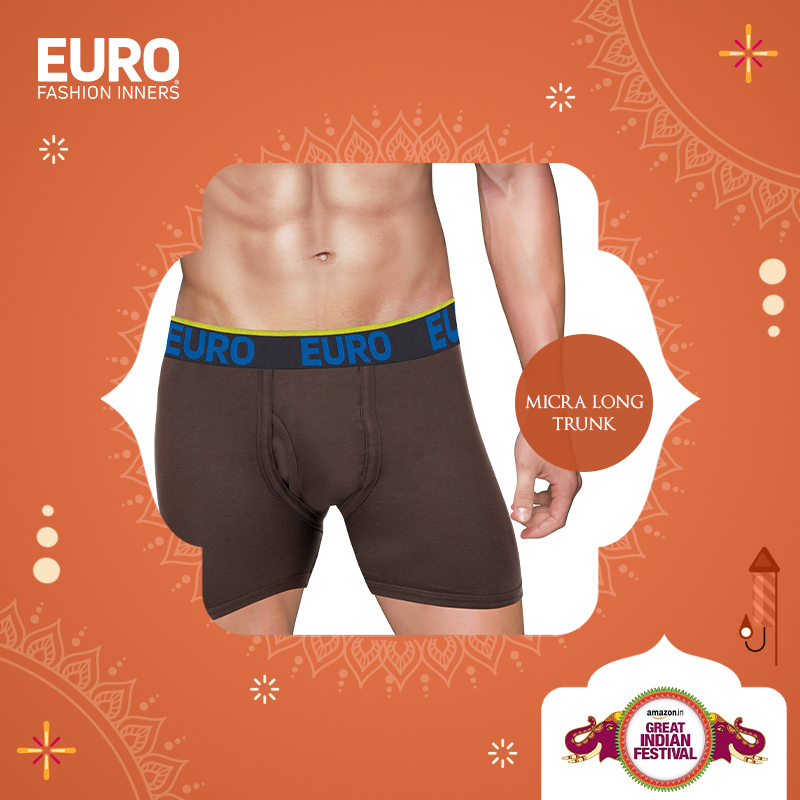 Shop your favorite Micra Long Trunk @ special prices @amazonIN :  #GreatIndianFestival #Vest #Brief #Trunk