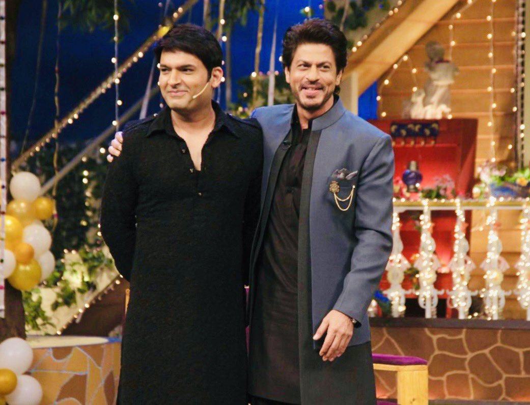 Replying to @KapilSharmaK9: Happy birthday ⁦@iamsrk⁩ bhai 🤗 love u always 🎂❤️🙏