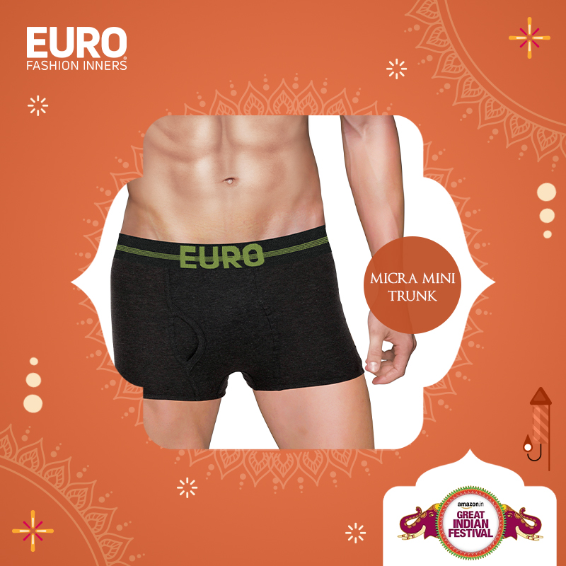 Shop your favorite Micra Mini Trunk @ special prices @amazonIN :  #GreatIndianFestival #Vest #Brief #Trunk