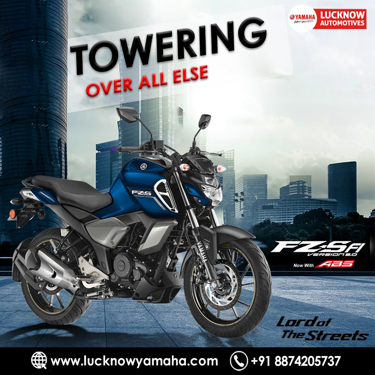 Yamaha FZ S FI generates 12.2 bhp of power and 13.6 nm of torque from its 149cc engine. It is also one of the pioneers of fuel injection.  Call Us📲:- +91 8874205737 #Lucknow #lucknowbikers #lucknowyamaha #txtasad #superbikers #MondayMotivation #mondaythoughts