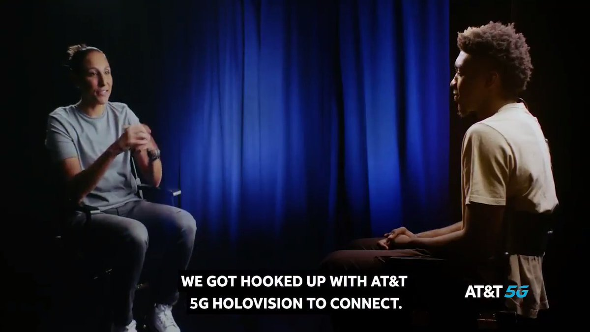 Still can't believe I got to sit-down with the GOAT, @DianaTaurasi. Thanks to #ATT5G HoloVision for making this unforgettable experience possible. #ATTAthlete https://t.co/MKQeVkd9Ql