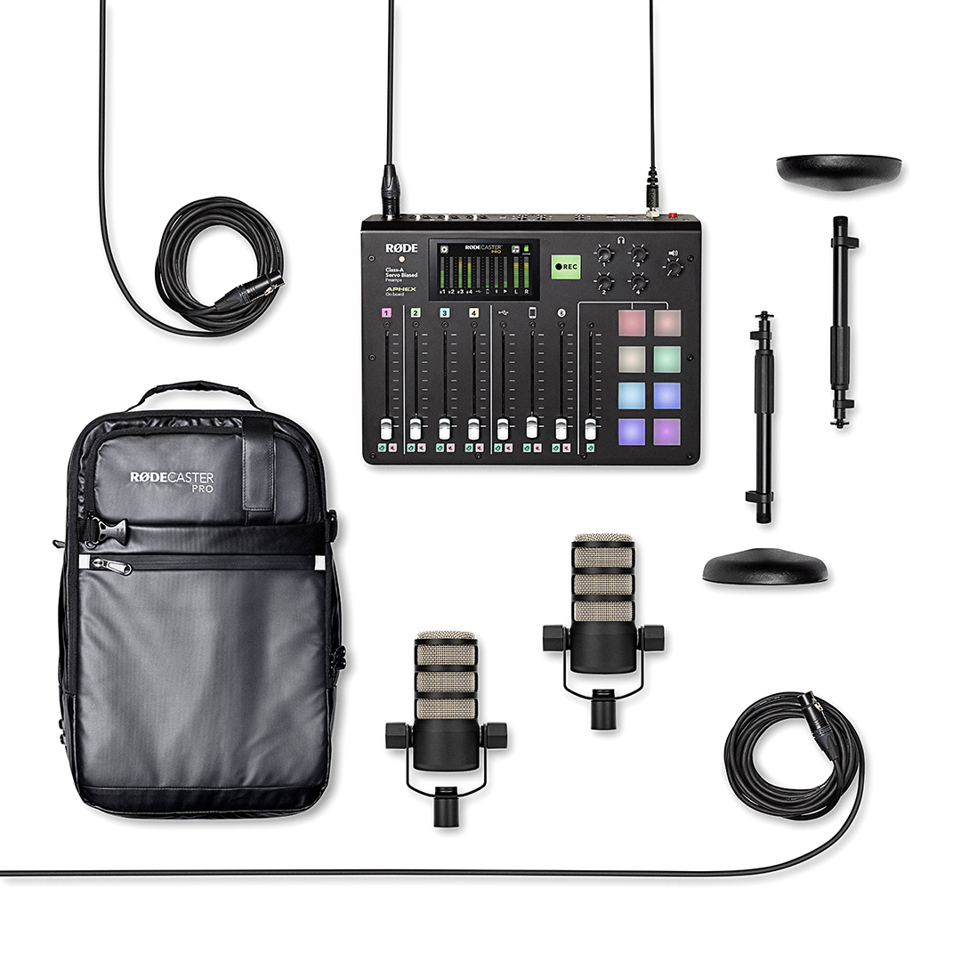 We're giving away three RØDECaster Pro Podcasting Kits + Limited Edition Backpack!  Entries close November 27th and these backpacks aren't available anywhere else, so get your entry in now via the link!  💻: https://t.co/fHO2tpa4Hr https://t.co/Z5qWeO6XHQ