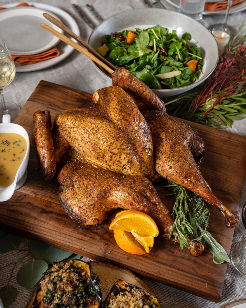 Make this Thanksgiving the year you finally try spatchcocking your turkey. Don't worry—we're here to make it easy for you. All week we'll be preaching the benefits of spatchcocked turkeys and offering up guides, tips, and tricks to help you nail it first try.  https://t.co/dCXWPM21j7