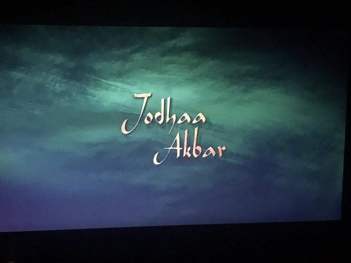 I don't remember how many times i have seen this movie.. cinematography and BGM top-notch... @arrahman #JodhaaAkbar