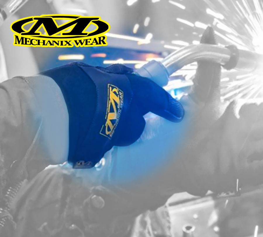 All of us in @JEGSPerformance yellow & black love our @Mechanix_Wear gloves...in the shop or at the track. #twothumbsup