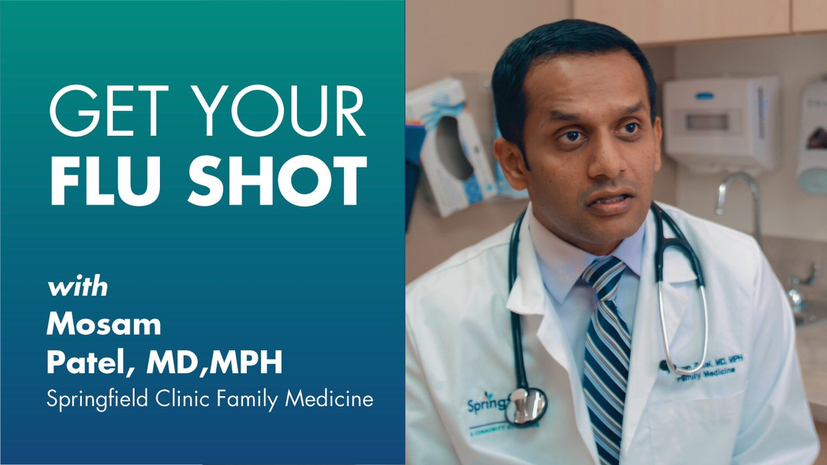 Have you and your loved ones gotten flu shots yet? It's not too late! Mosam Patel, MD, MPH, stresses the importance of getting a flu shot this year. Visit a Springfield Clinic drive-up flu shot clinic or call to schedule an in-office visit to protect yourself and those you love.