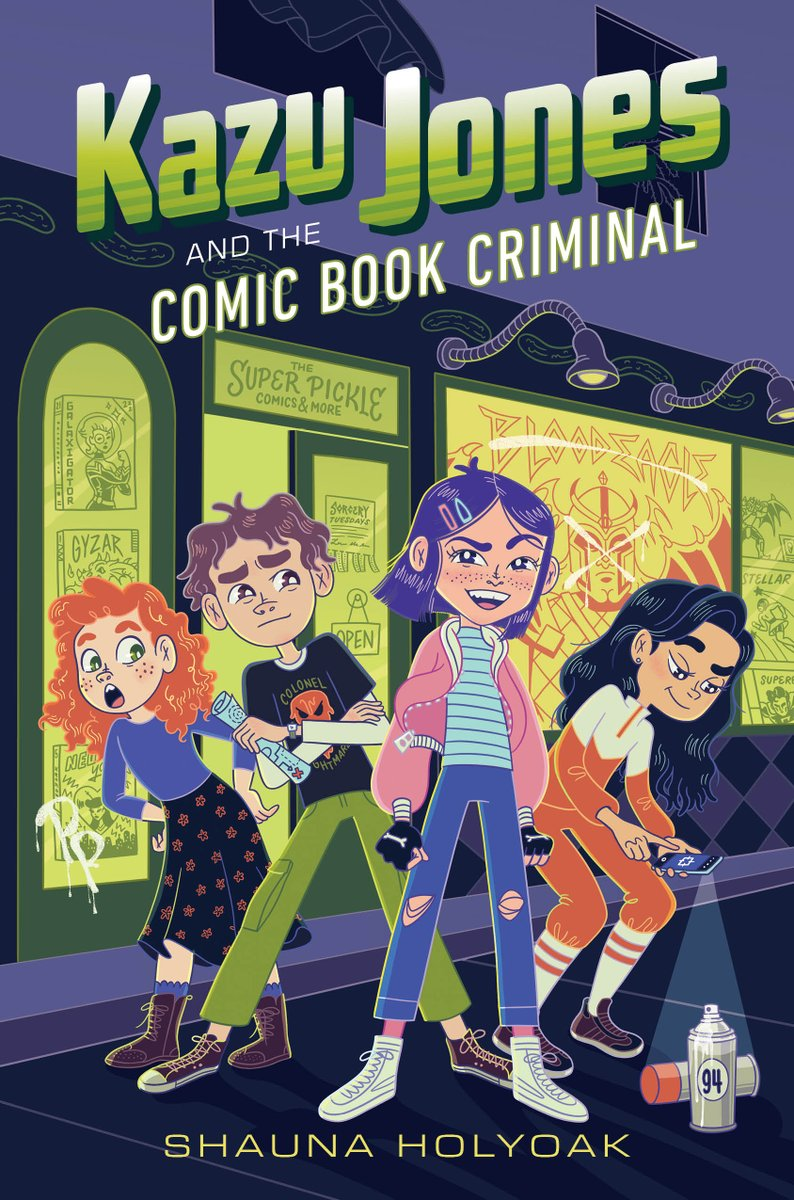 Super excited to announce that KAZU JONES AND THE COMIC BOOK CRIMINAL has been nominated for the Whitney Award in MG fiction! Thanks to everyone who plugged my book. I'm so honored to see the company Kazu is keeping!  To read more about the Whitneys, visit