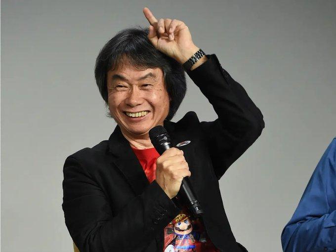 Happy birthday to the legend Shigeru Miyamoto!