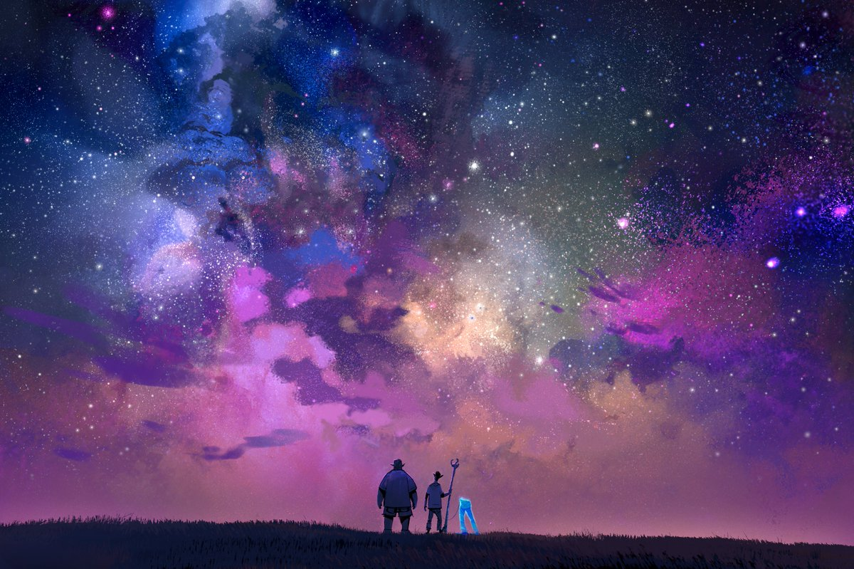 Starstruck. 🌌  Onward Concept Art by Kyle Macnaughton