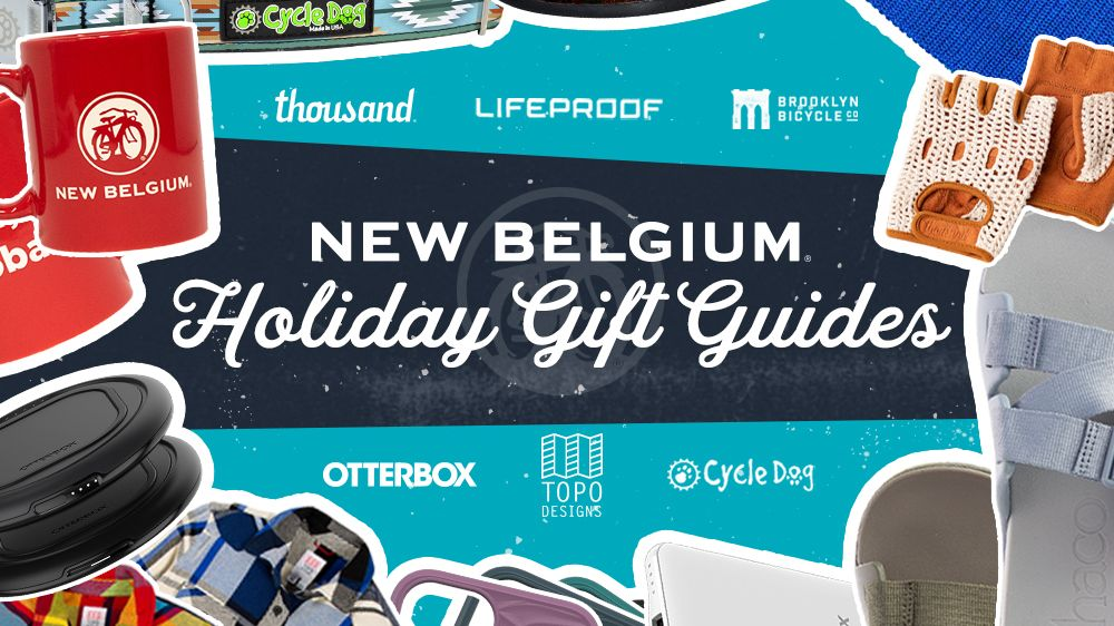 The New Belgium Gift Guides have arrived! Our hand-picked guides are just what you need to cross even the hardest to shop for folks off your list this year. Featuring @chacousa, @TopoDesignsUSA, @BrooklynBikeCo, @OtterBox, @explorethousand, and Cycle Dog. bit.ly/36HeEV7