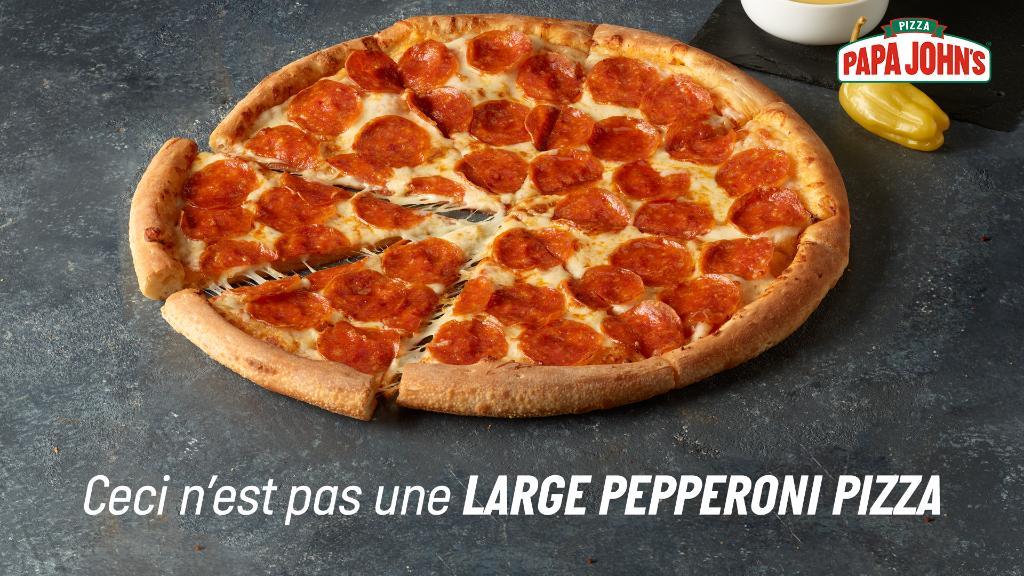 Translation: this is not a large pepperoni pizza 🍕 These are the spoils you could be earning with Papa Rewards. Download the app  and join at https://t.co/WPREAXXSTl https://t.co/DyMg4rS6DK