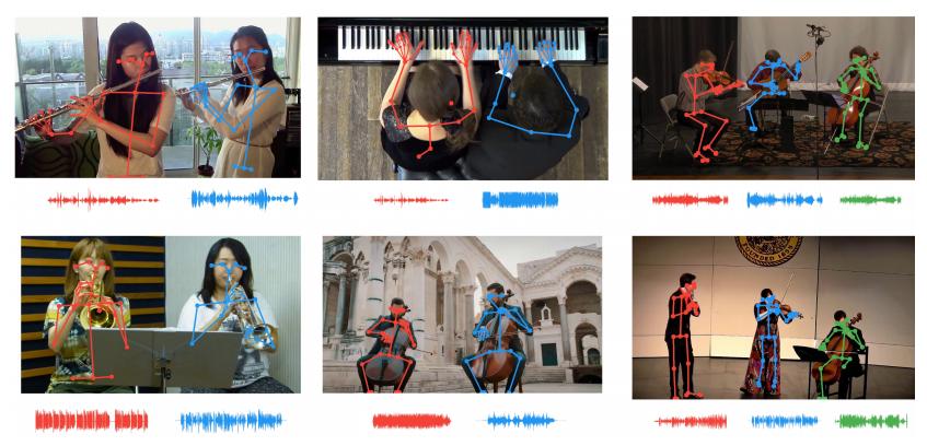 混ざった楽器の音を演奏者の動きで分離 米MITなど研究