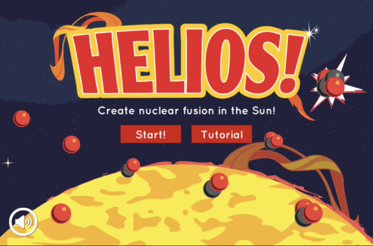 Do you know where the Sun's energy come from? ☀️ Play our newly updated Helios pairing game to find out!   🎮 Start playing here > https://t.co/xxAIkAmuFm https://t.co/mkNOnzEXfA