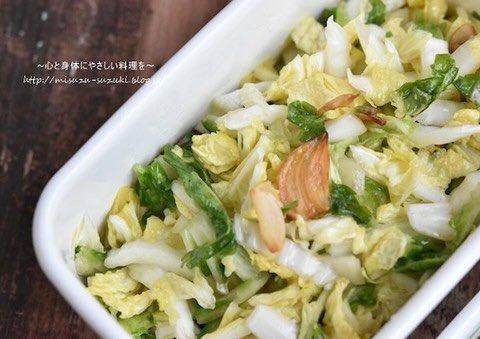 /お鍋だけじゃない🤭白菜さんのお料理バリエ🥬✨\ㅤ中華風のお漬物や無限にお箸が進むもの、簡単煮浸しなど、白菜さんを楽しむレシピがたくさん🙌🏻シャキシャキにもクタクタにもおいしくいただけちゃいます☺️ㅤ→ サラダや漬物でも楽しめる「白菜」の作りおき