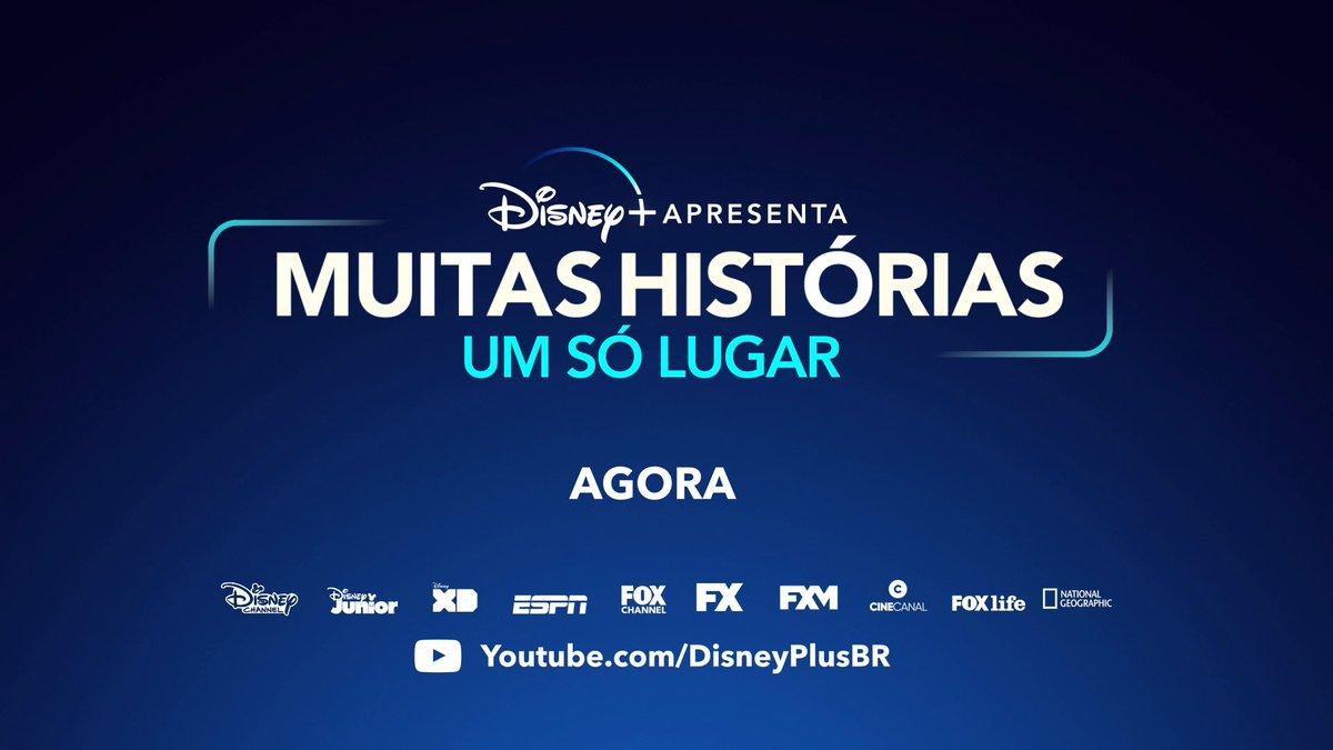 Começou! Disney+ apresenta: Muitas Histórias, Um Só Lugar. Confira de perto essa experiência cheia de surpresas através dos canais da Disney ou pelo YouTube: