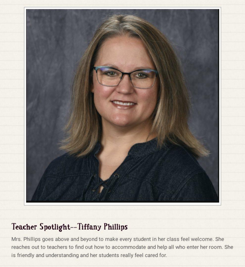 RHS Teacher Spotlight 💻🏹🗂
