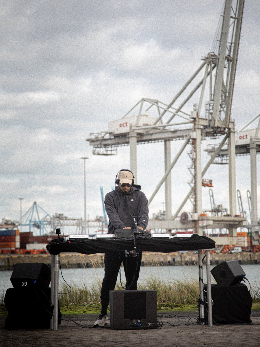 Replying to @kapuchonrecords: LIVE FROM MAASVLAKTE ROTTERDAM  ▹
