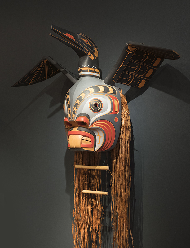 Jay Brabant >|< Part 2 of 3 - Eternal Ascension   • Loon & Pugwis Articulated Mask  'Flaps its wings when cord is pulled.' #StoningtonGallery #Merman #HeadaboveWater   • 'The Moon is associated with transformation, as it controls the tides and illuminates the dark.' #PeaceDance