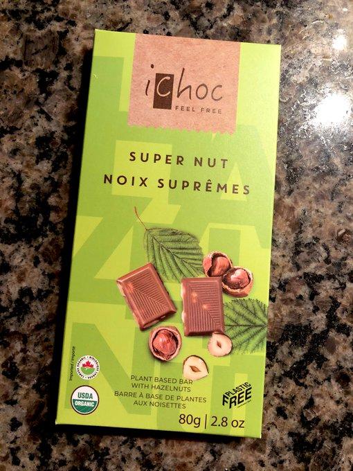 Really really good vegan chocolate 🌱💕 https://t.co/G3XLPz3H2R