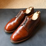 Image for the Tweet beginning: MOTO この靴も結構長くなってきました。 #moto #motoleather #shoes #mensshoes #chromexcel