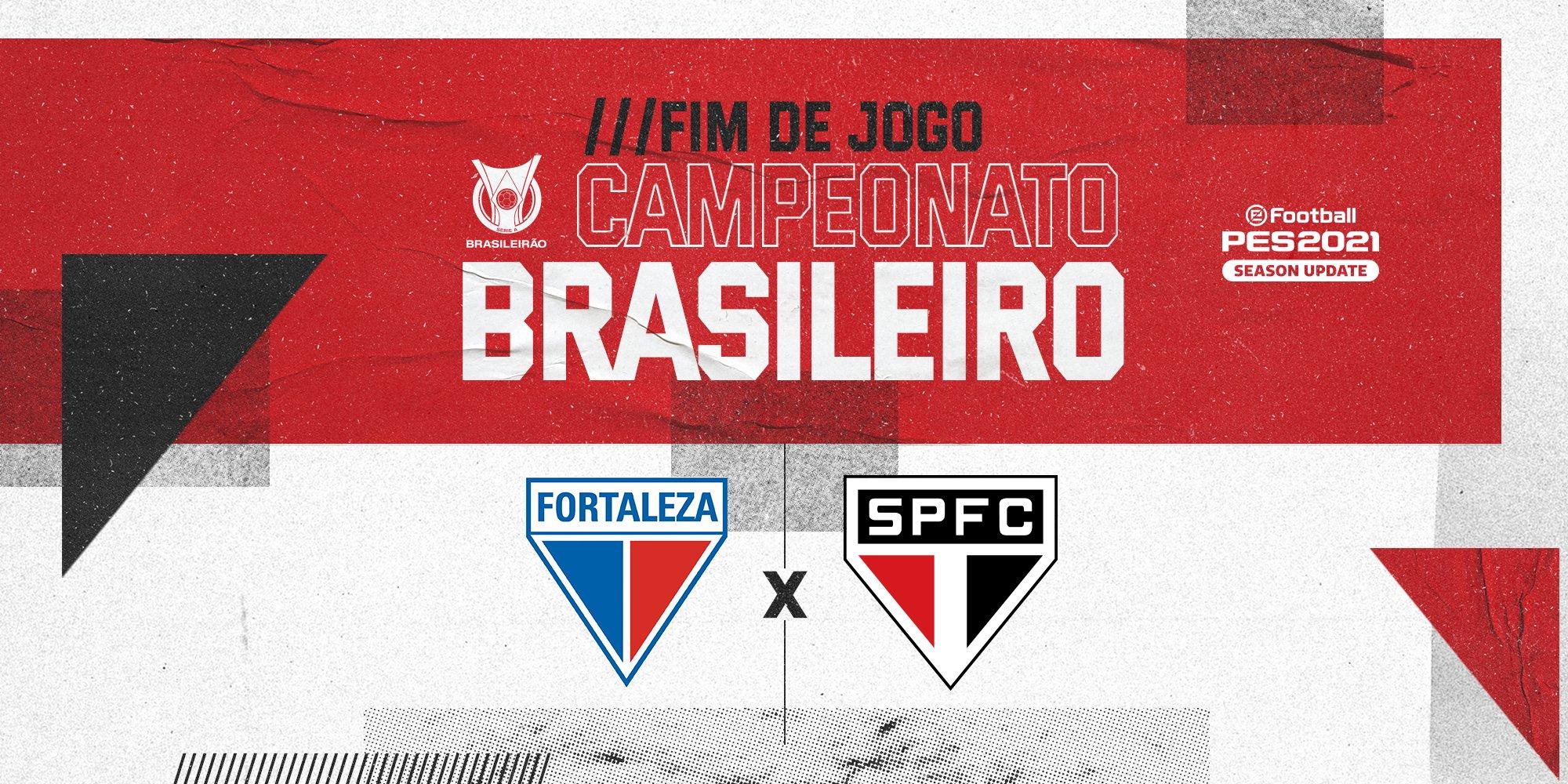 Fortaleza 2x3 São Paulo Brasileirão 2020