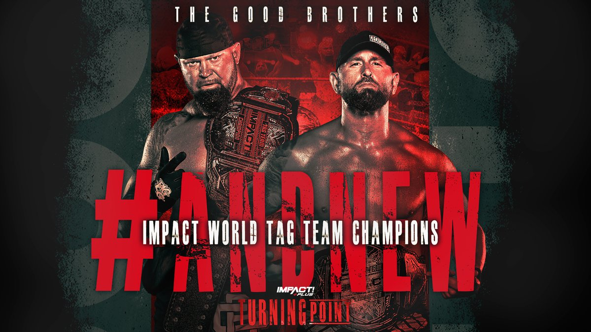 """New Tag Team Crowned The Impact World Tag Team Champions At """"Turning Point"""""""