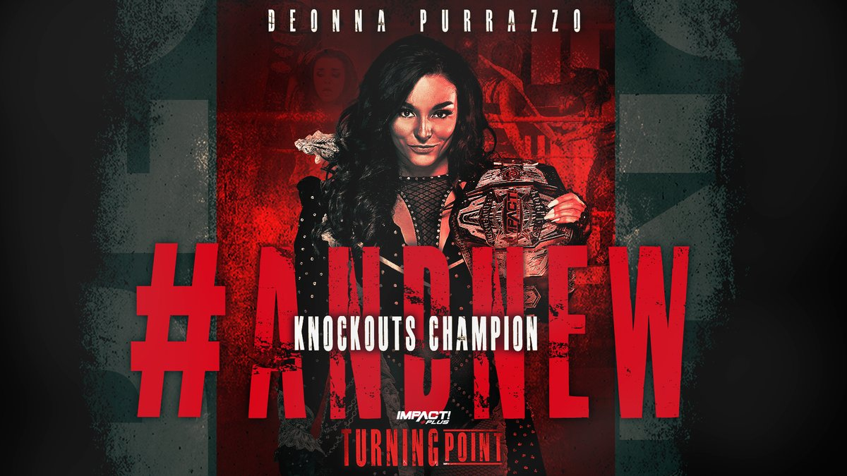 """Former Knockouts Champion Reclaims Title On Impact's """"Turning Point"""""""