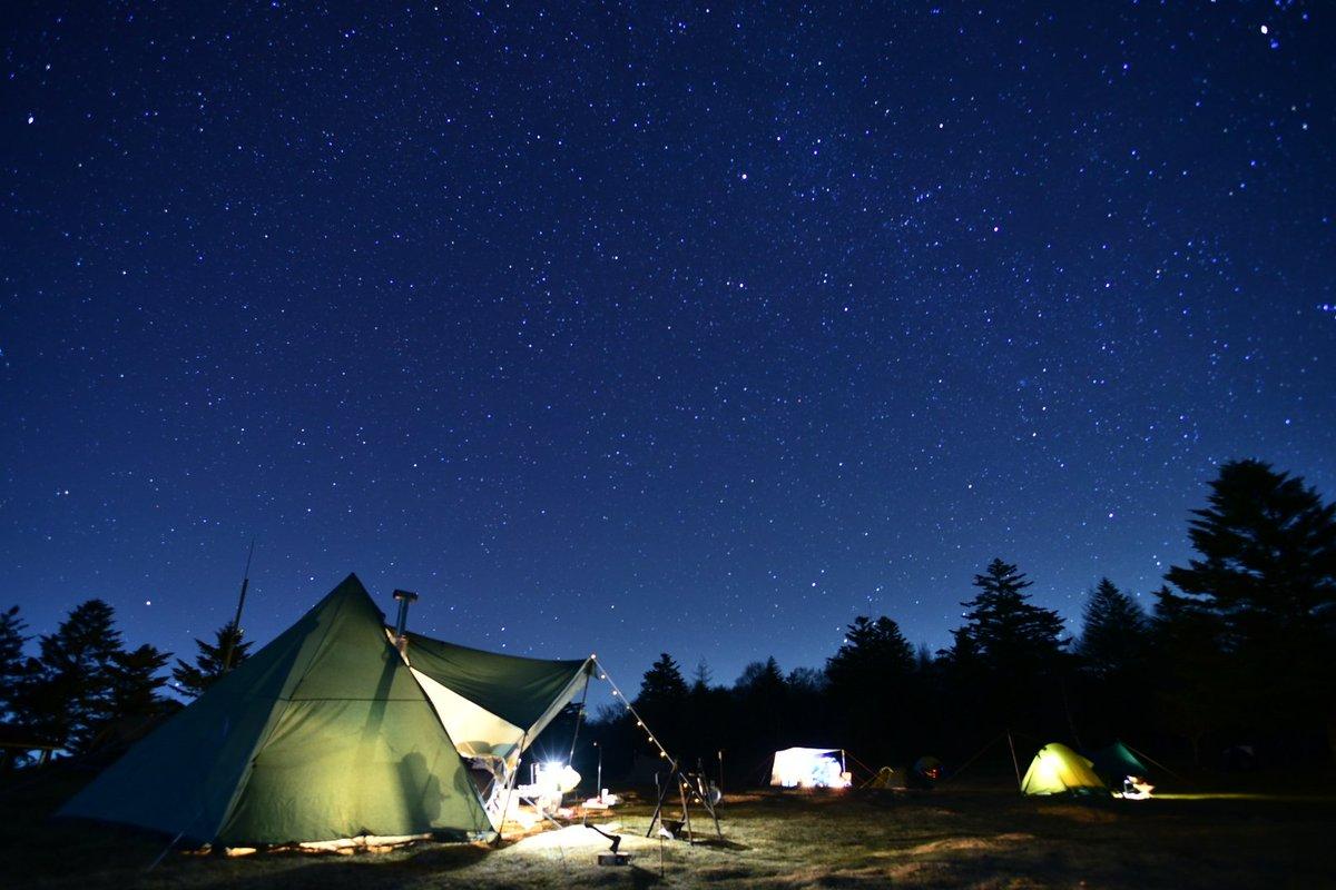 場 高原 鹿 嶺 キャンプ
