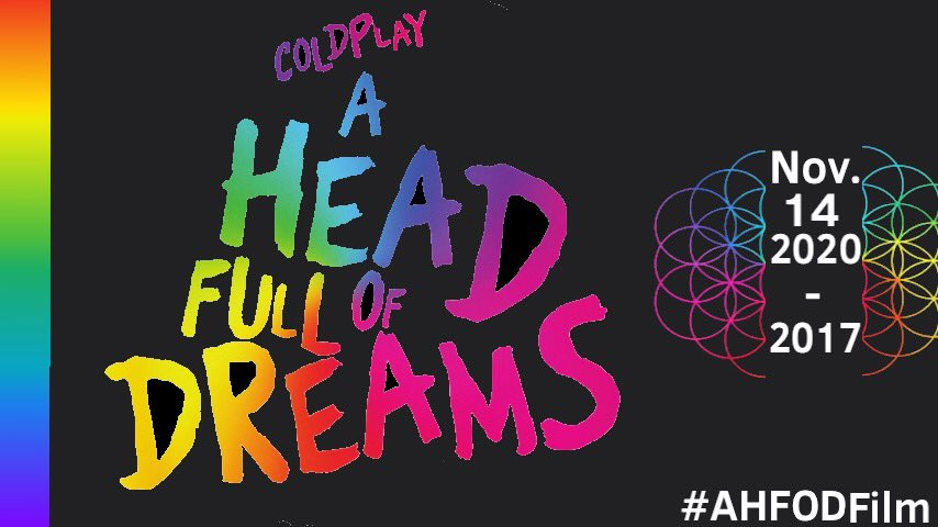 Fan art for the #AHFODfilm'd 3rd anniversary. Thank you @MatWhitecross and @coldplay for this Amazing film! Greatest thing I've ever seen ☺️