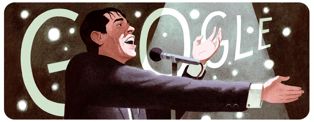 Belgian singer & songwriter Jacques Brel was a Renaissance man:  🎙 Widely considered one of the most famous French-language singers in Europe 🎬 A film star ⛵️ Sailed across the Atlantic & Pacific  #GoogleDoodle 🎨 by guest artist Antoine Maillard →