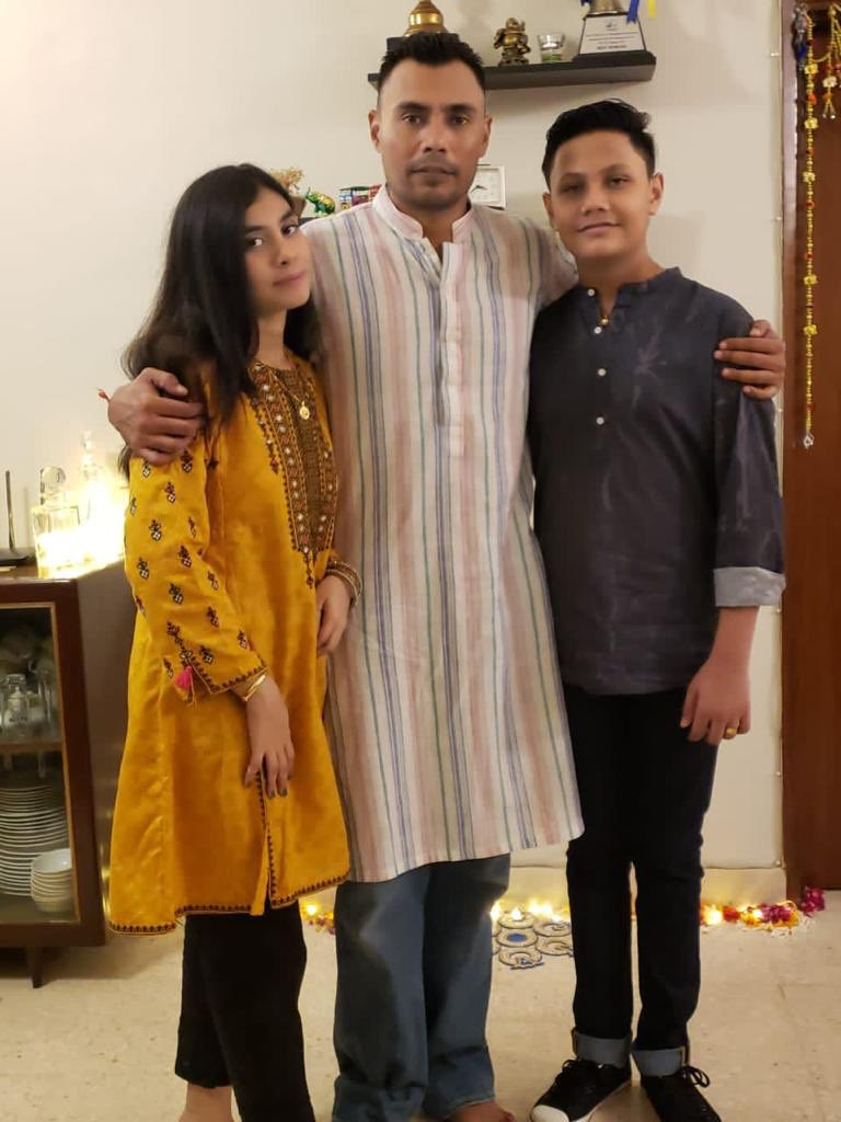 Diwali celebrations with family! Please remember us in yours prayers 🙏