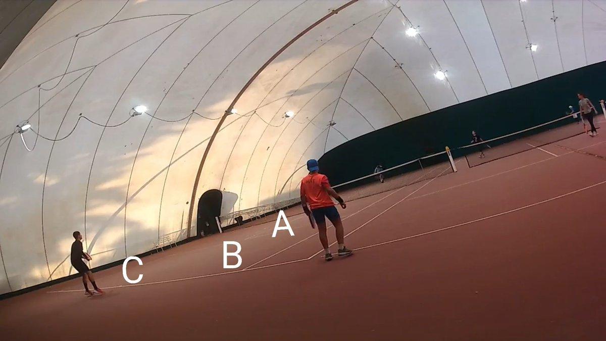 Mmh...🤔🤔🤔 dove atterrerà la palla??? @ilmaestrofolli @lore_05_ig  #tennis🎾 #tennis #tennismatch #tennisplayer #fitemiliaromagna #sport #wilson #wilsontennis #federer #nadal #djokovic #wimbledon #rolandgarros #ibi20 #usopen #australianopen #easytennis https://t.co/evi9ZfHiZG