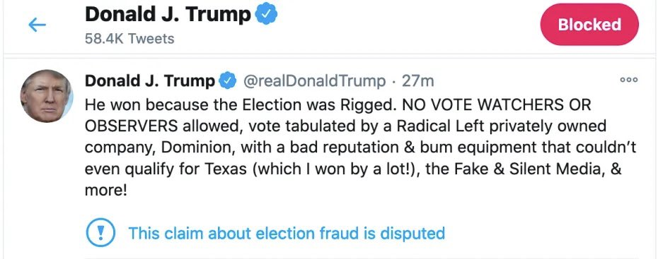 The @realDonaldTrump finally conceded! #TrumpConceded Then he tried to take it back - LOL