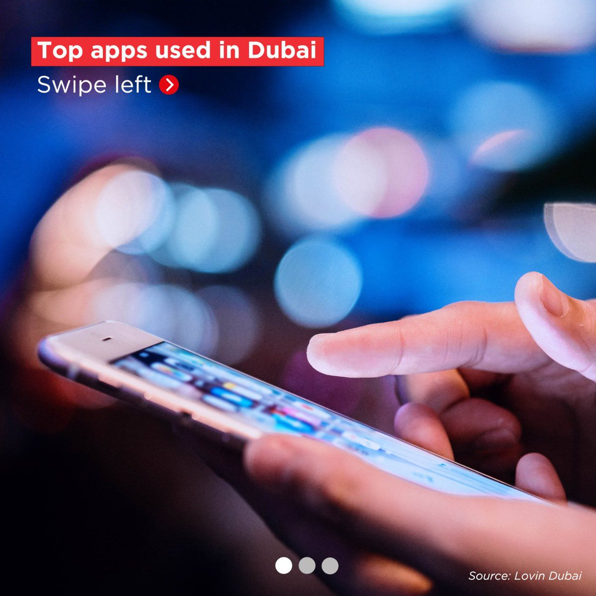Today, we depend on apps - and some of them are more in-demand than others. Swipe left to see Dubai's most popular apps, and leave a comment below to tell us if your favourite made the cut.   Source @lovindubai https://t.co/Gp875cglcr