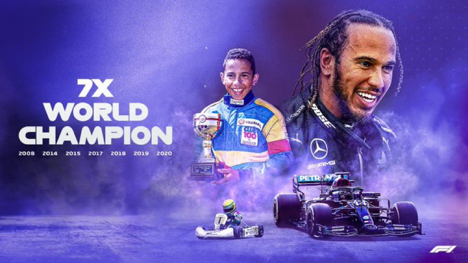 """To all the kids out there that dream of doing the impossible, you can do it!""  -7x champ @LewisHamilton   Simply incredible"