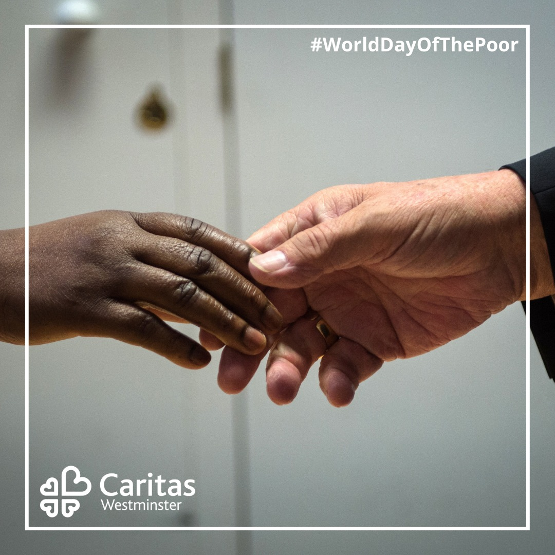 "The them for #WorldDayOfThePoor is ""Stretch forth your hands to the poor""  But how can we stretch forth our hands to the poor in a time of lockdown and social distancing…?  A reflection and some suggestions from Sr Silvana 🔽 #BeKind #LoveInAction"