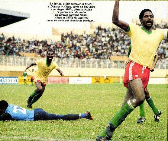 Plus qu'un ami, un frère. Comme footballeur, Theophile Abega restera pour moi sans aucun doute le meilleur de notre génération. Sur le plan technique, il était le plus fort.   #AFCON1984 #RIP ✊🏿🌹
