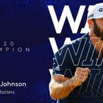 Image for the Tweet beginning: Dustin Johnson wins @TheMasters 🏆  A
