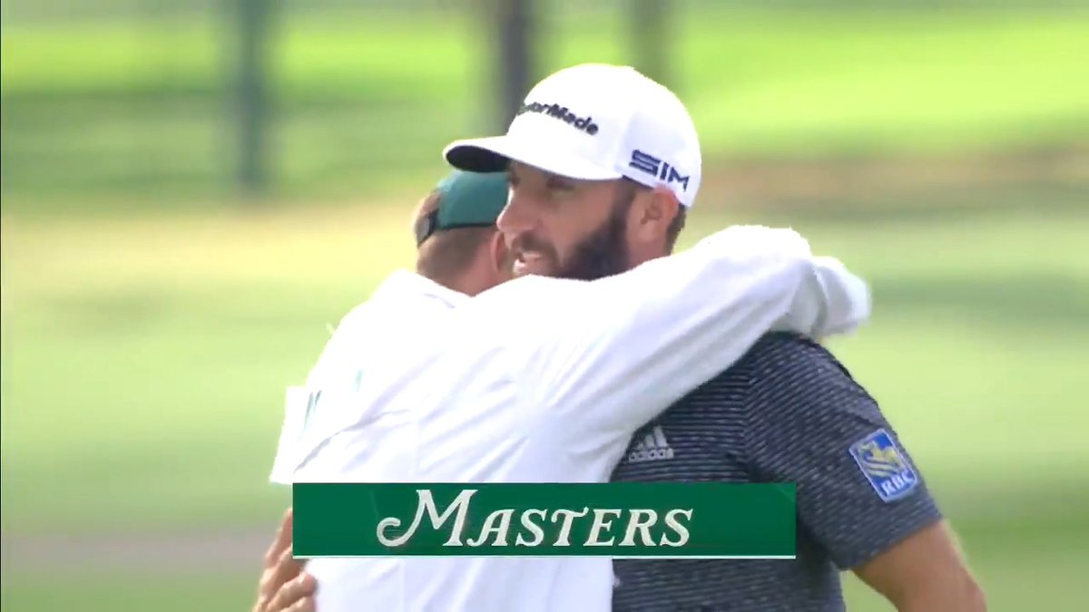 Replying to @TheMasters: Dustin Johnson wins the 84th Masters Tournament. #themasters