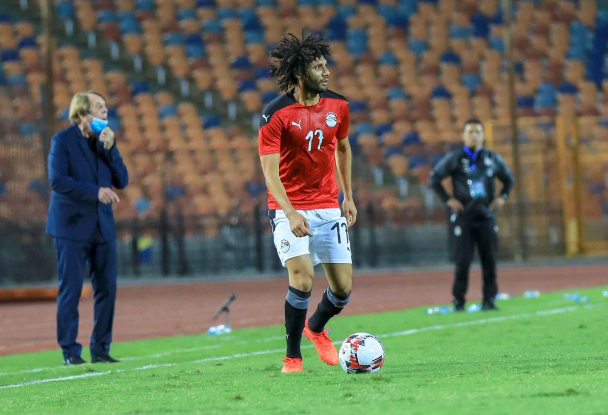 Grateful for the victory and for contributing to the goal. The best is yet to come. 🇪🇬💪🏼
