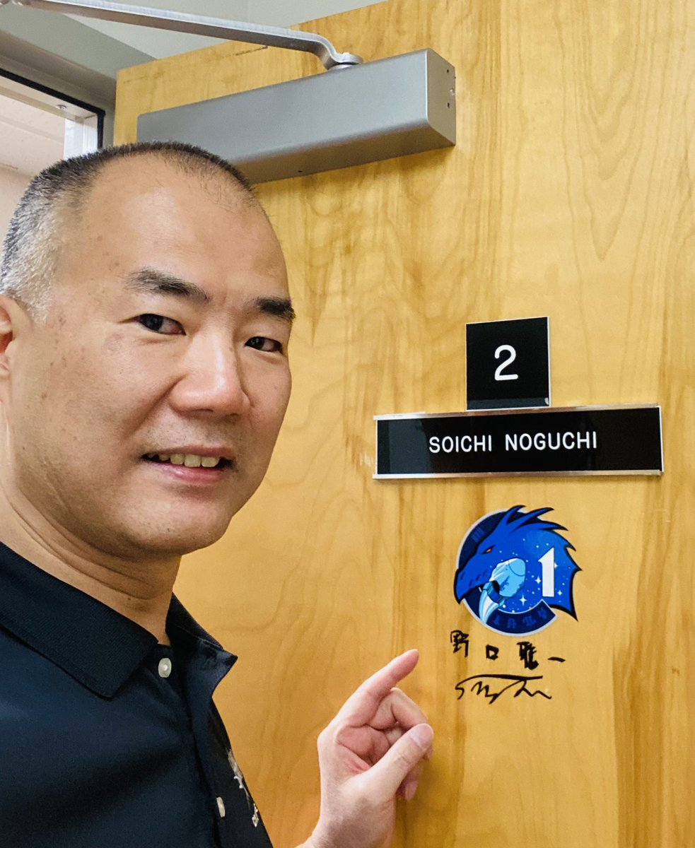 launch day tradition : sign the door  #spacex #Crew1 launch is TONITE! https://t.co/s7Vvyzwx9P