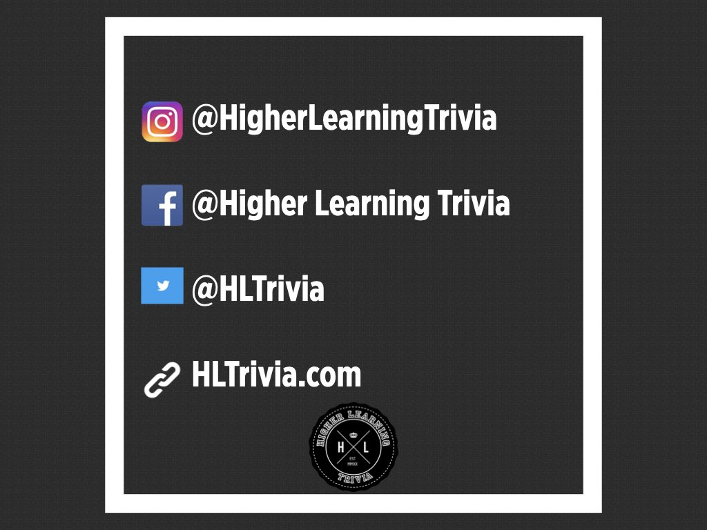 🎓 Follow, like, and support! 🎓  HBCU TRIVIA available now @  #HLTrivia #HigherLearningTrivia  #hbcu #hbcupride  #trivia #games #gamenight #blacktrivia #spelhouse #hbculove #hbcuhomecoming #illustrious #buyblack