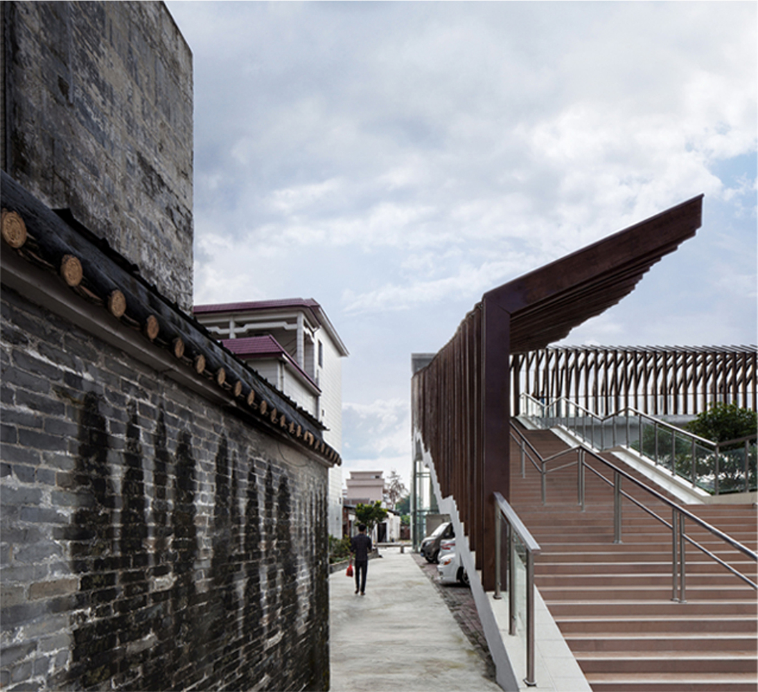 This staircase might be the only ordinary thing about this #bridge. #architecture